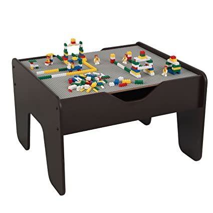 Charmant KidKraft 2 In 1 Activity Table With Board (Gray/Espresso)