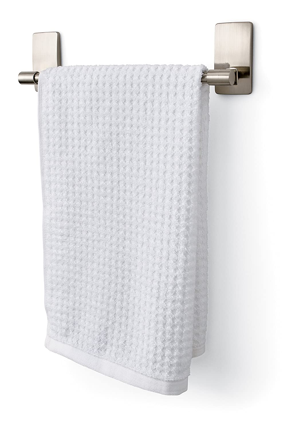 Command Hand Towel Bar Satin Nickel Towel Bar Sn Es
