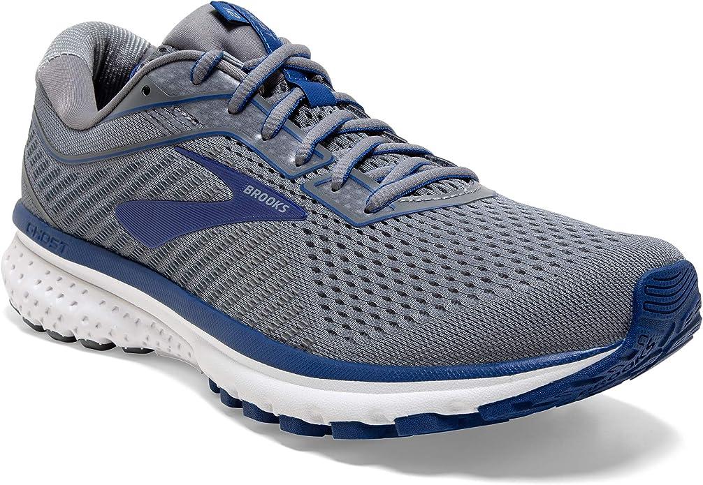 Brooks Ghost 12 Sneakers Laufschuhe Herren Grau/Blau