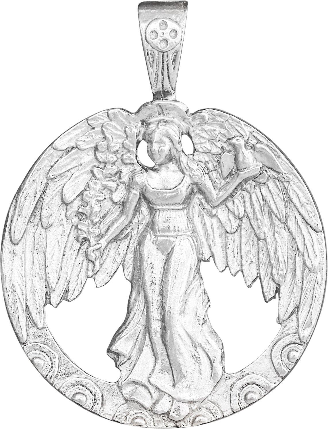 Helen Ficalora Peace Angel Charm Sterling Silver