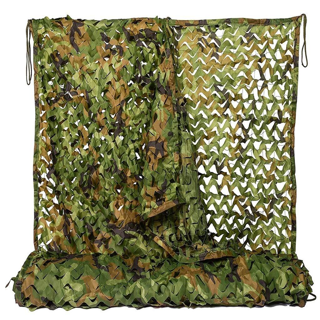 迷彩ネット迷彩ネッティングオックスフォード生地狩猟、屋外シェードフィールド軍事展示会屋外狩猟射撃隠しキャンプテント建物影2×3メートル、3×3メートル、3×4メートル、4×5メートル、4×6メートル、6×6メートル、6×8メートル (サイズ さいず : 6x6m) 6x6m  B07MKDGHYJ