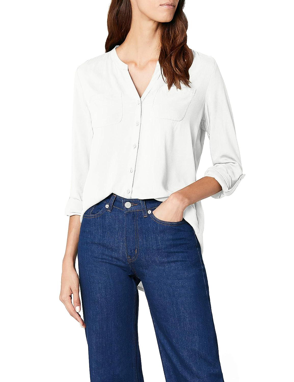 Only Onlfirst LS Pocket Shirt Noos Wvn, Camicia Donna 15133028