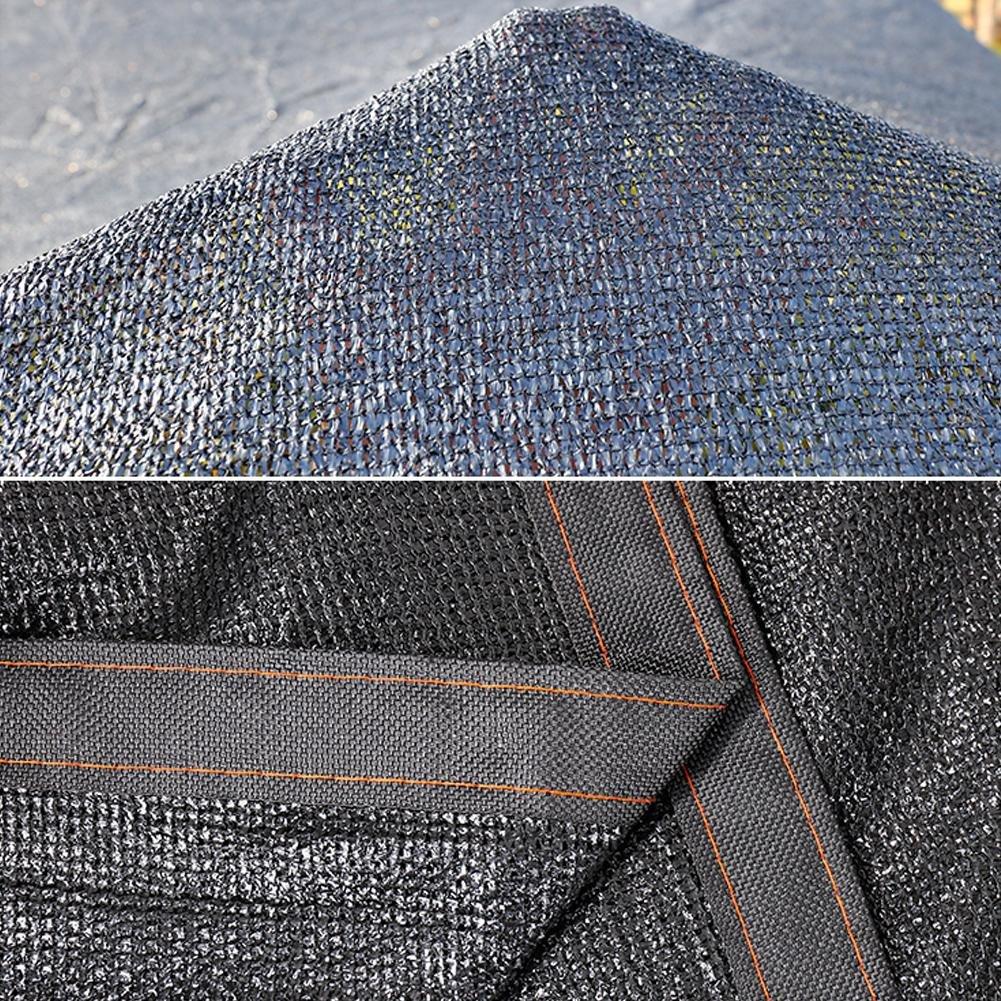 Sombrilla Net Insulation Net Protección Solar Net Encryption 8 8 8 Pines Edge Punching Angle Reinforcement Balcony Meat Garden Varios Tamaños b37209