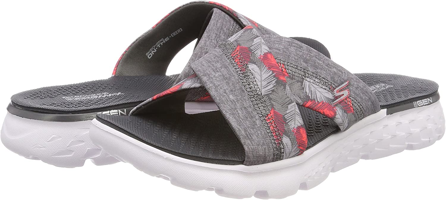 Skechers Women S On The Go 400 Tropical Flip Flops -9582