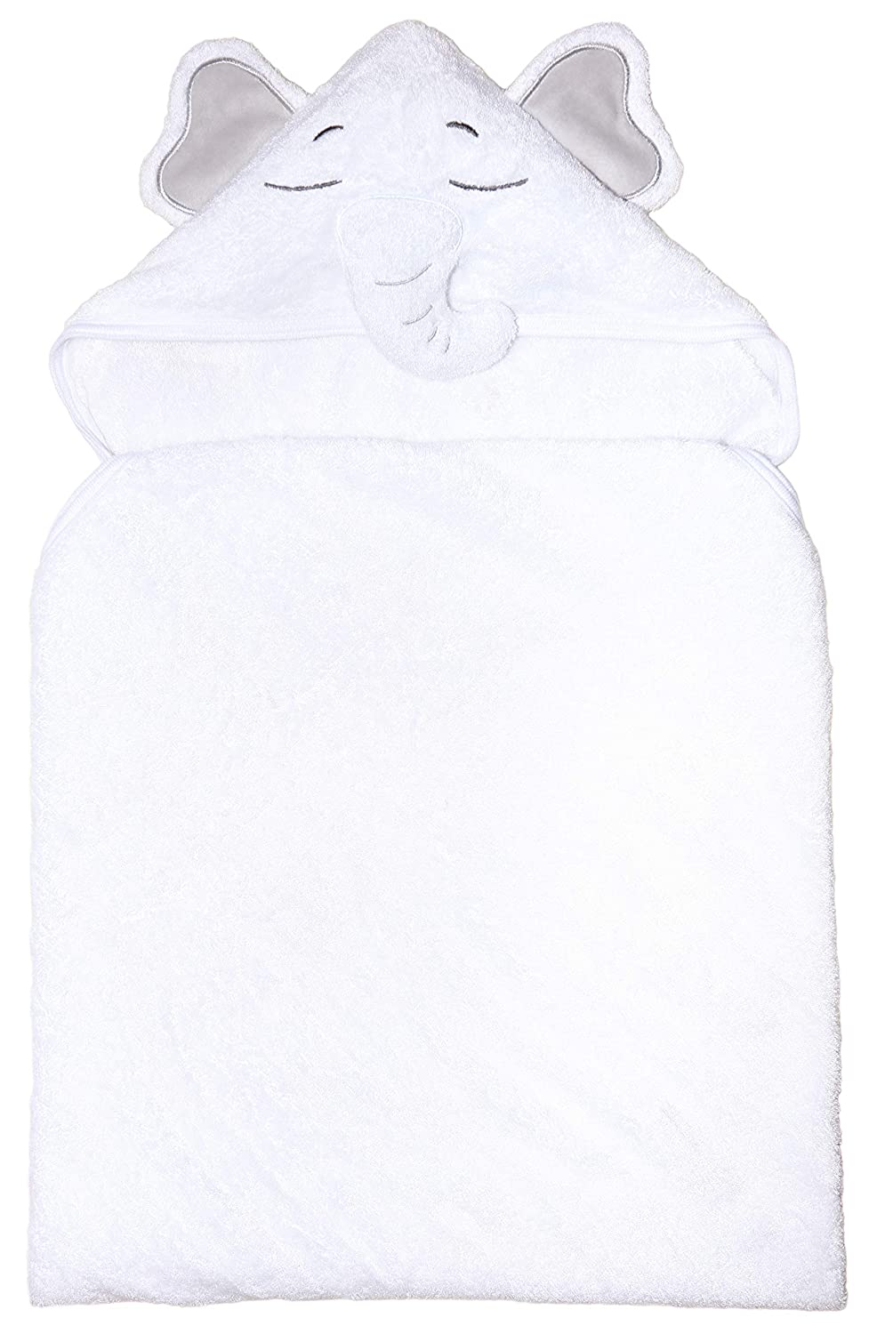 Fast Dry Premium Hypoallergenic Ultra Thick /& Soft with Animal Ears Lasts Through Washes Baby Hooded Towel Extra Absorbent Toddler Infant Baby Bath Towels with Hood Boys Girls Bamboo Elephant