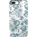 Speck Products Presidio Inked Cell Case for iPhone 7 Plus -AquaBouquet Green Metallic/Aloe Green