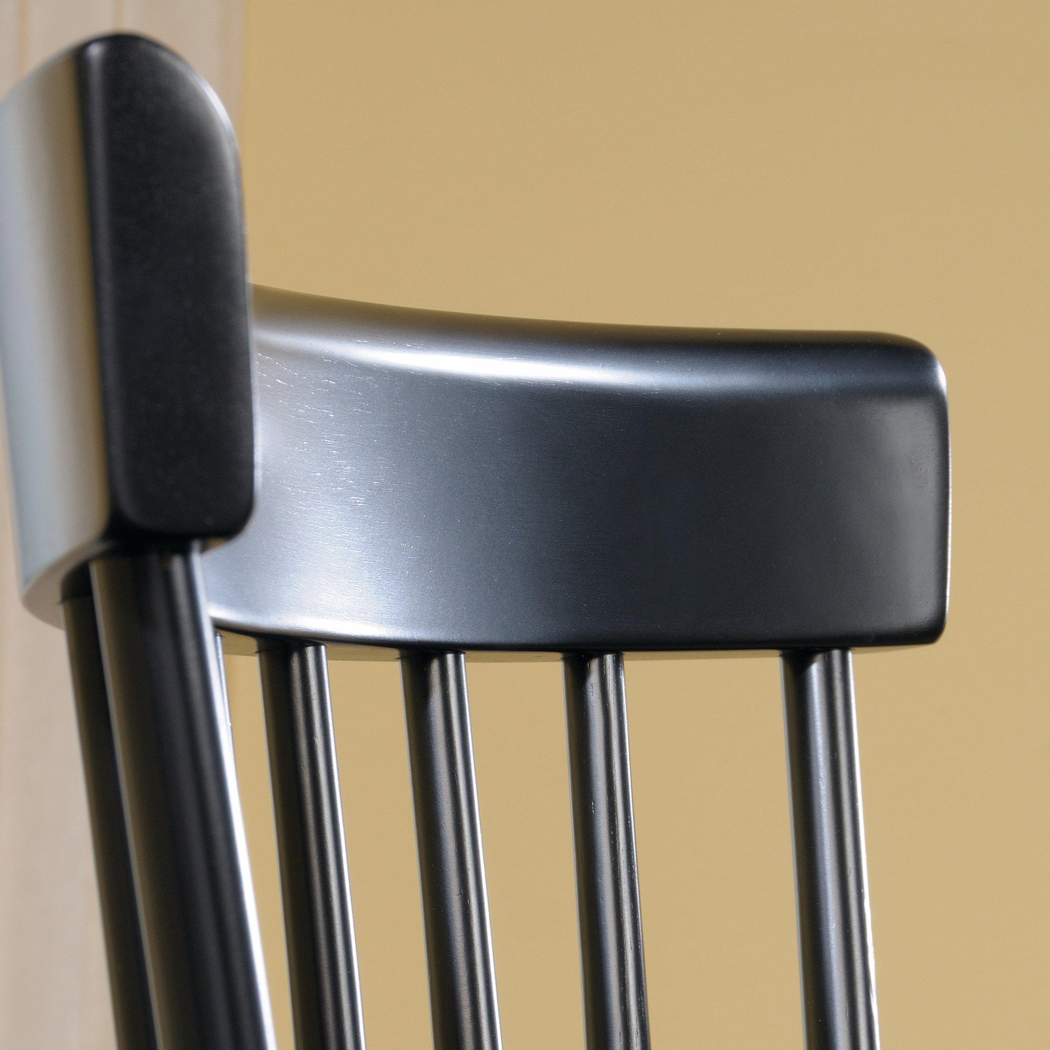 Sauder 418892 New Grange Spindle Back Chairs, L: 20.47'' x W: 21.26'' x H: 36.22'', Black finish by Sauder (Image #4)