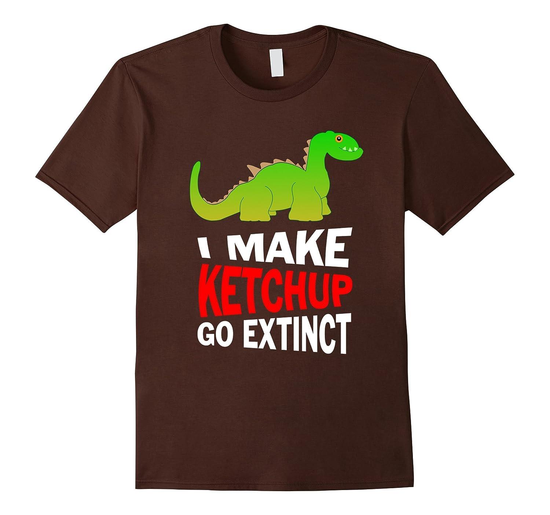 I Love Ketchup. I Make it Go Extinct: Funny Food T-Shirt-AZP