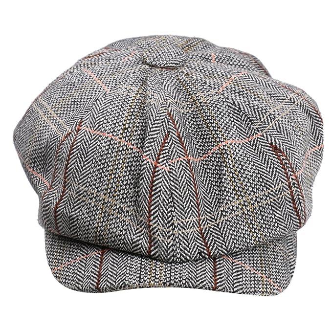 MagiDeal Strillone Gatsby Tweed Cappello da Golf Cappellini Sole Baschi  Berretti  Amazon.it  Abbigliamento 5bd84ef55176