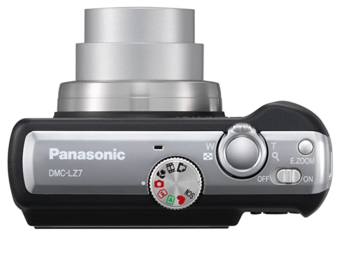 amazon com panasonic lumix dmc lz7k 7 2mp digital camera with 6x rh amazon com Panasonic Lumix GH3 24X Panasonic Lumix DMC