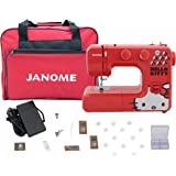 Janome 13512 Red Hello Kitty Sewing Machine with Bonuspack!