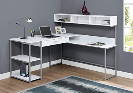 Amazon.com: Monarch Specialties COMPUTER DESK - Esquina de ...