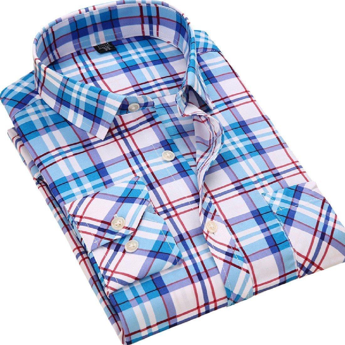 YUNY Men Oversize Lounge Popular Long-Sleeve Polo Top Shirt 16 XL