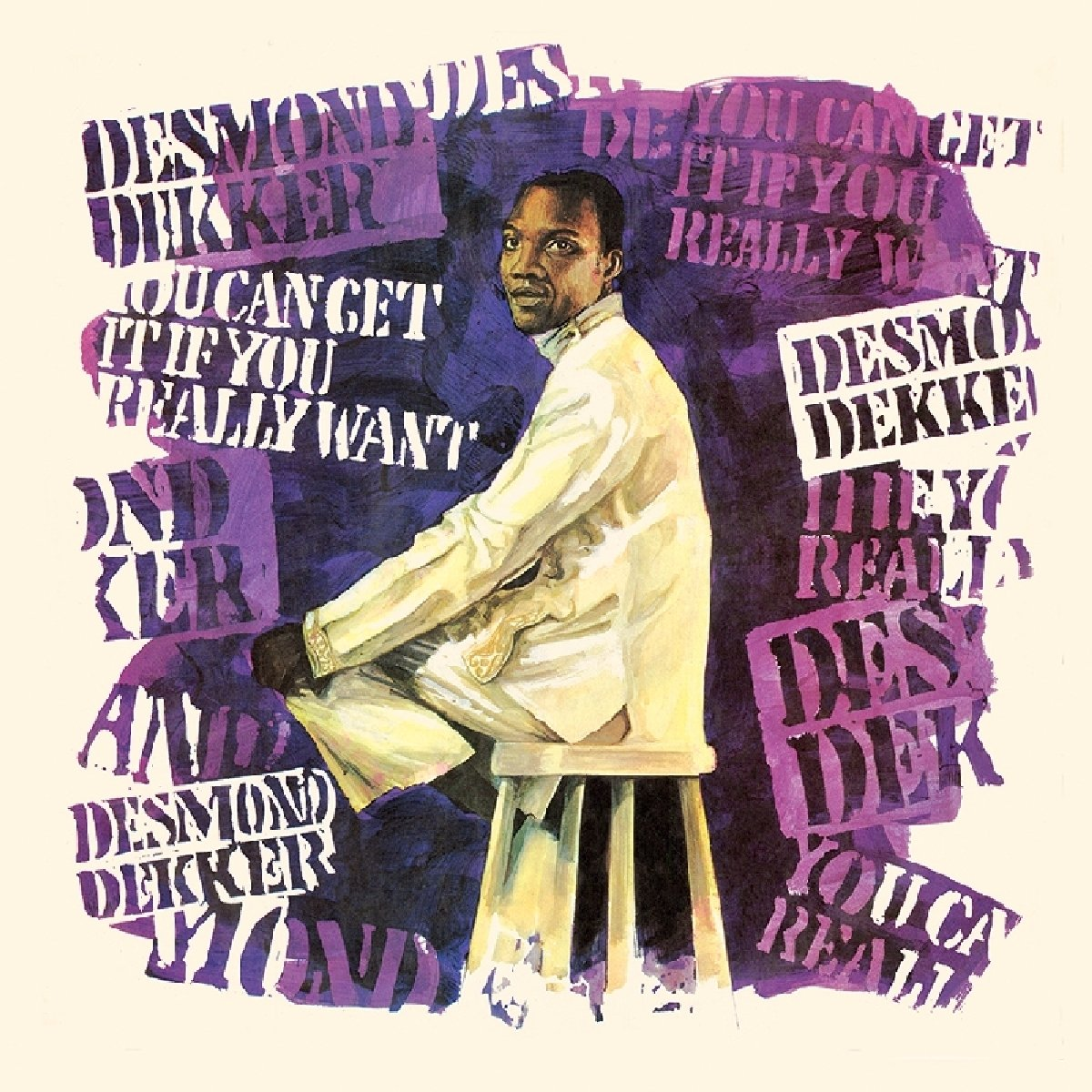 Desmond Dekker - You Can Get It If You Really Want (Limited Edition, Colored Vinyl, Black, Blue)