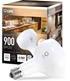 LIFX Smart LED Light Bulb, Wi-Fi, White 900 BR30, Dimmable, Works with Amazon Alexa