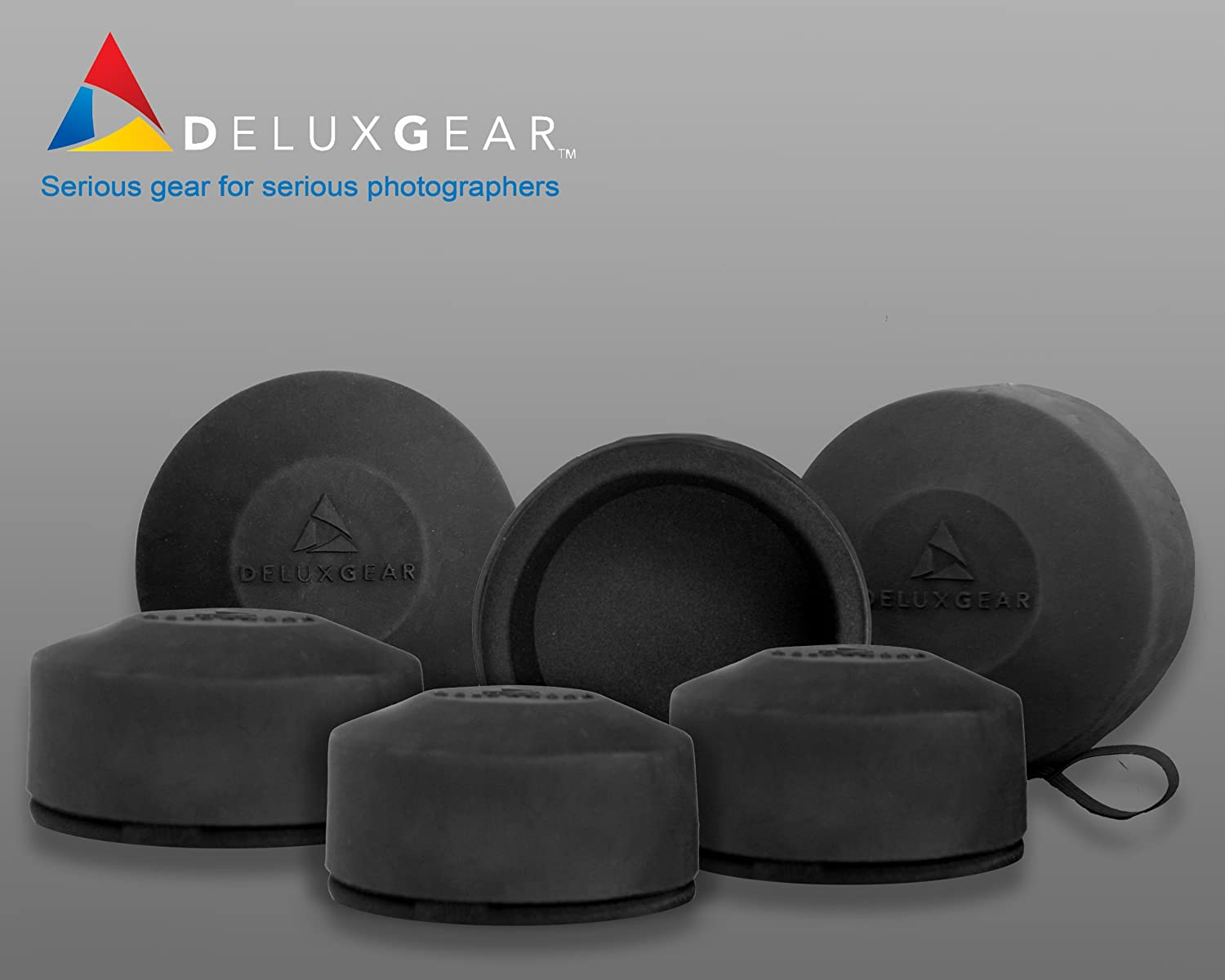 DeluxGear DGLG-LGL Lens Guard for Lenses 3.4-3.9 Inches in Diameter Large