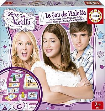 65f420fb2de7c8 Educa - 16035 - Le Jeu De Société De Violetta  Amazon.fr  Jeux et Jouets