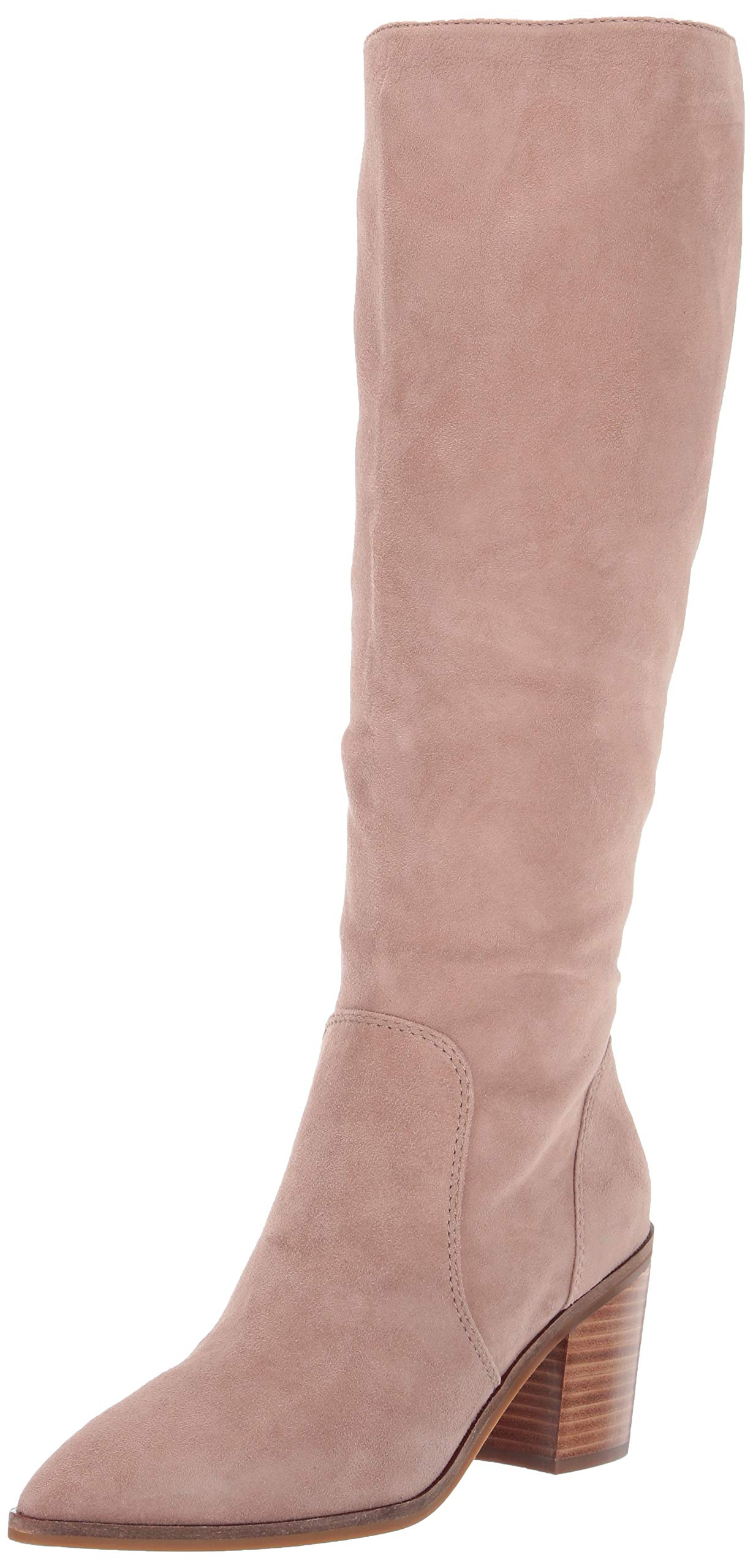 Cole Haan Women's Willa Boot 75Mm Knee High, Stone Taupe Suede, 10.5 B US by Cole Haan
