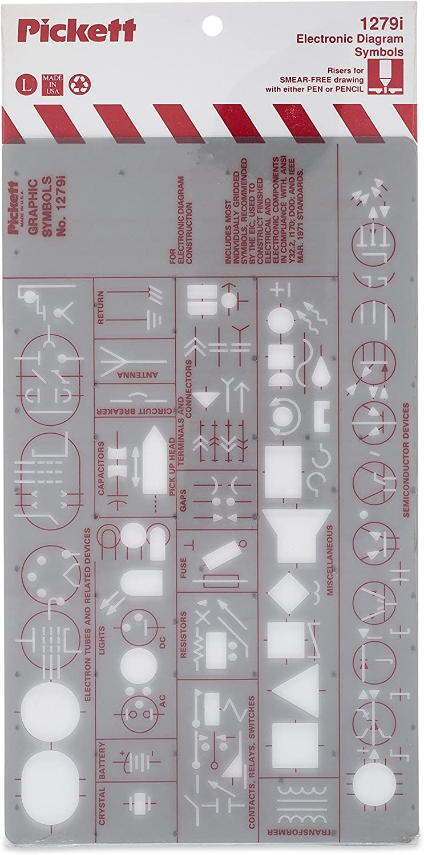 electronic schematics symbols circuits amazon com pickett electronics diagram symbols template  most  pickett electronics diagram symbols