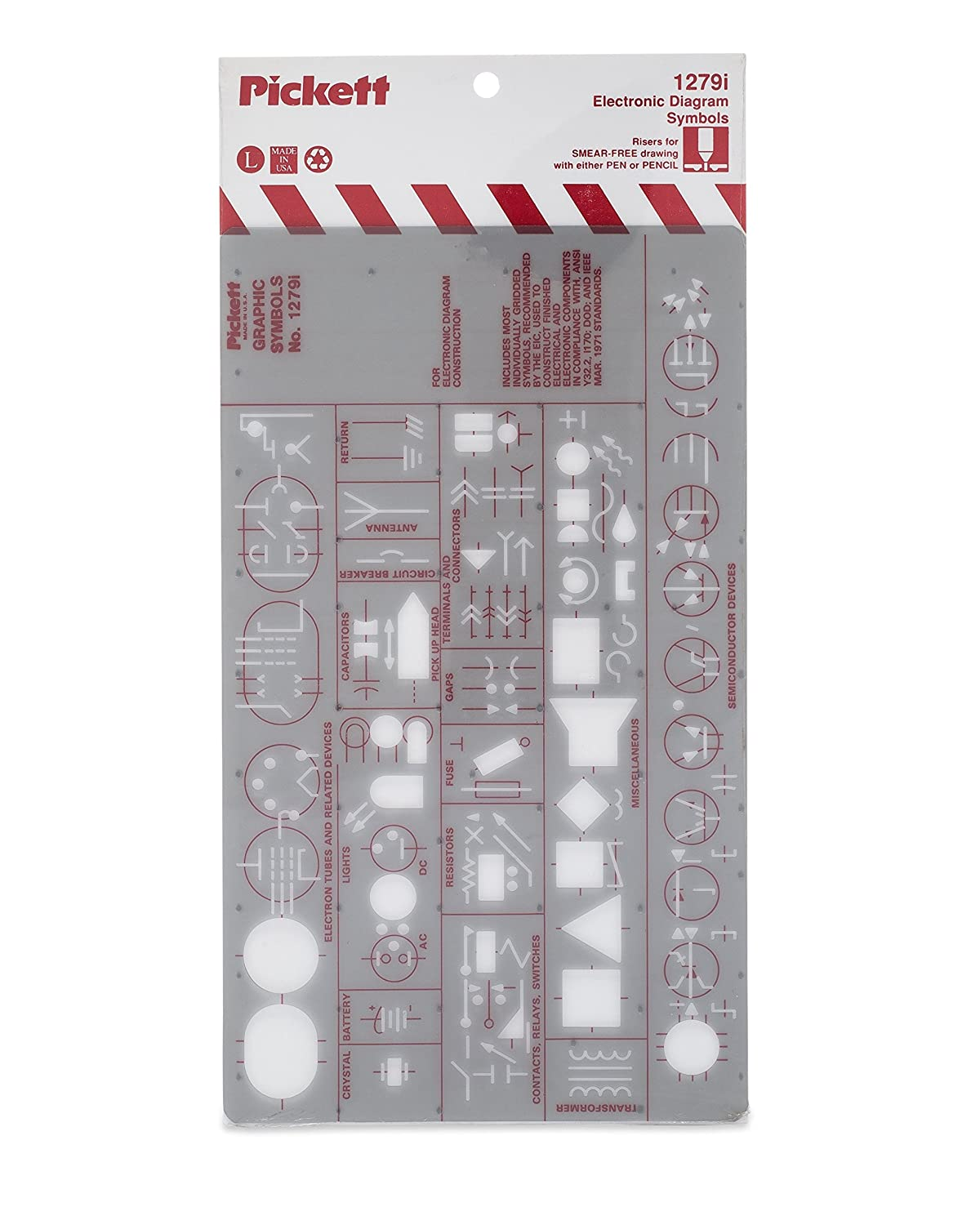 30off Pickett Electronics Diagram Symbols Template Most Frequently Electronic Schematics Circuits Used For