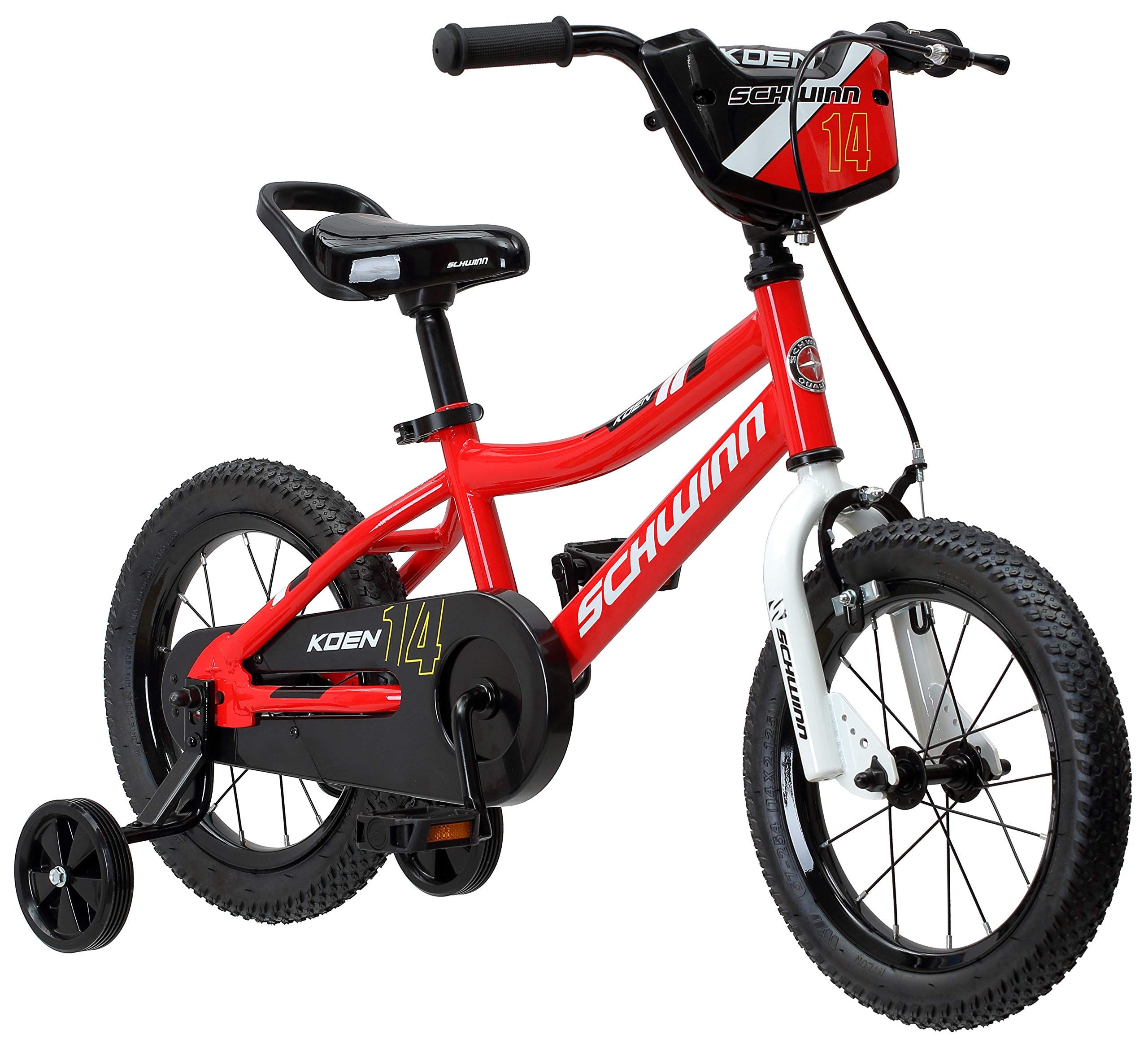 Schwinn Koen Boy's Bike with SmartStart, 14'' Wheels, Red