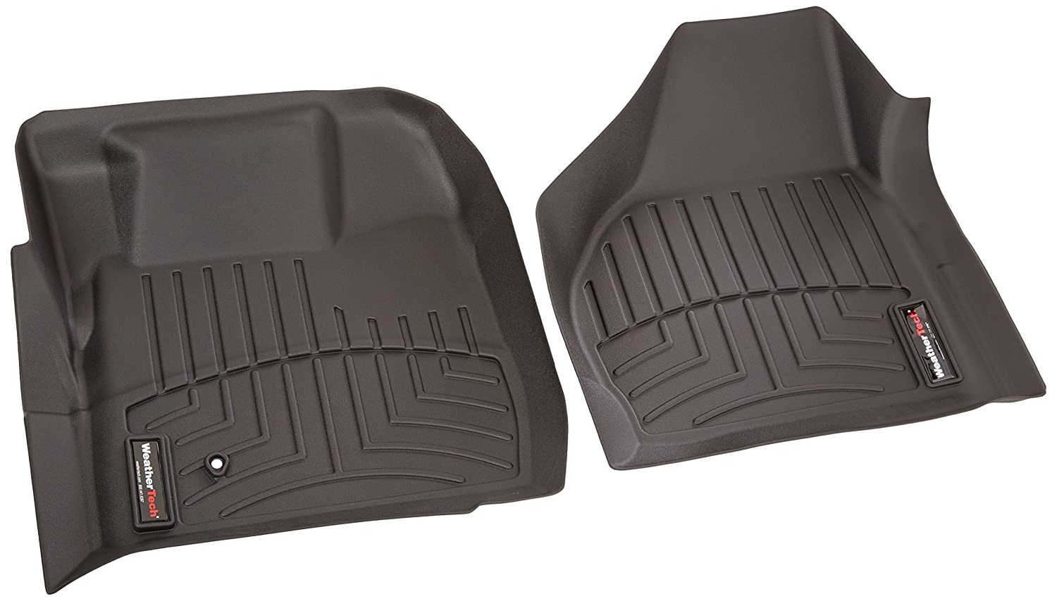 WeatherTech  441201  Custom Fit Front FloorLiner for Select Ford Models (Black)