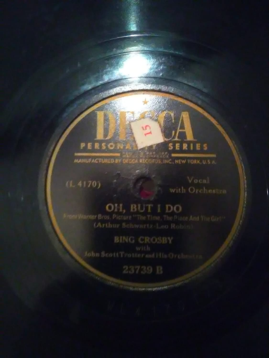 Bing Crosby - Oh, But I Do/A Gal In Calico, 78 RPM - Amazon