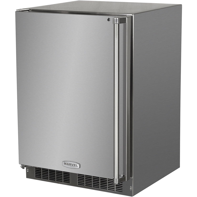 amazon com aga marvel ml24fas1rs under counter freezer with lock rh amazon com Marvel Appliances Refrigerators Marvel Appliances Refrigerators
