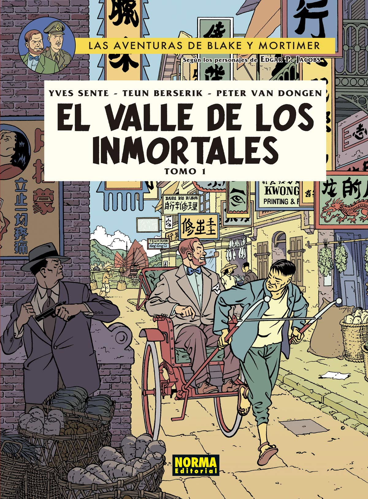BLAKE&MORTIMER 25.EL VALLE DE LOS INMORTALES.TOMO 1: Amazon.es: Y. Sente, T. Berserik, P. Van Dongen, Reyes de Uña, Eva: Libros