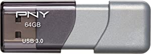 PNY Turbo 64GB USB 3.0 Flash Drive - (P-FD64GTBOP-GE)