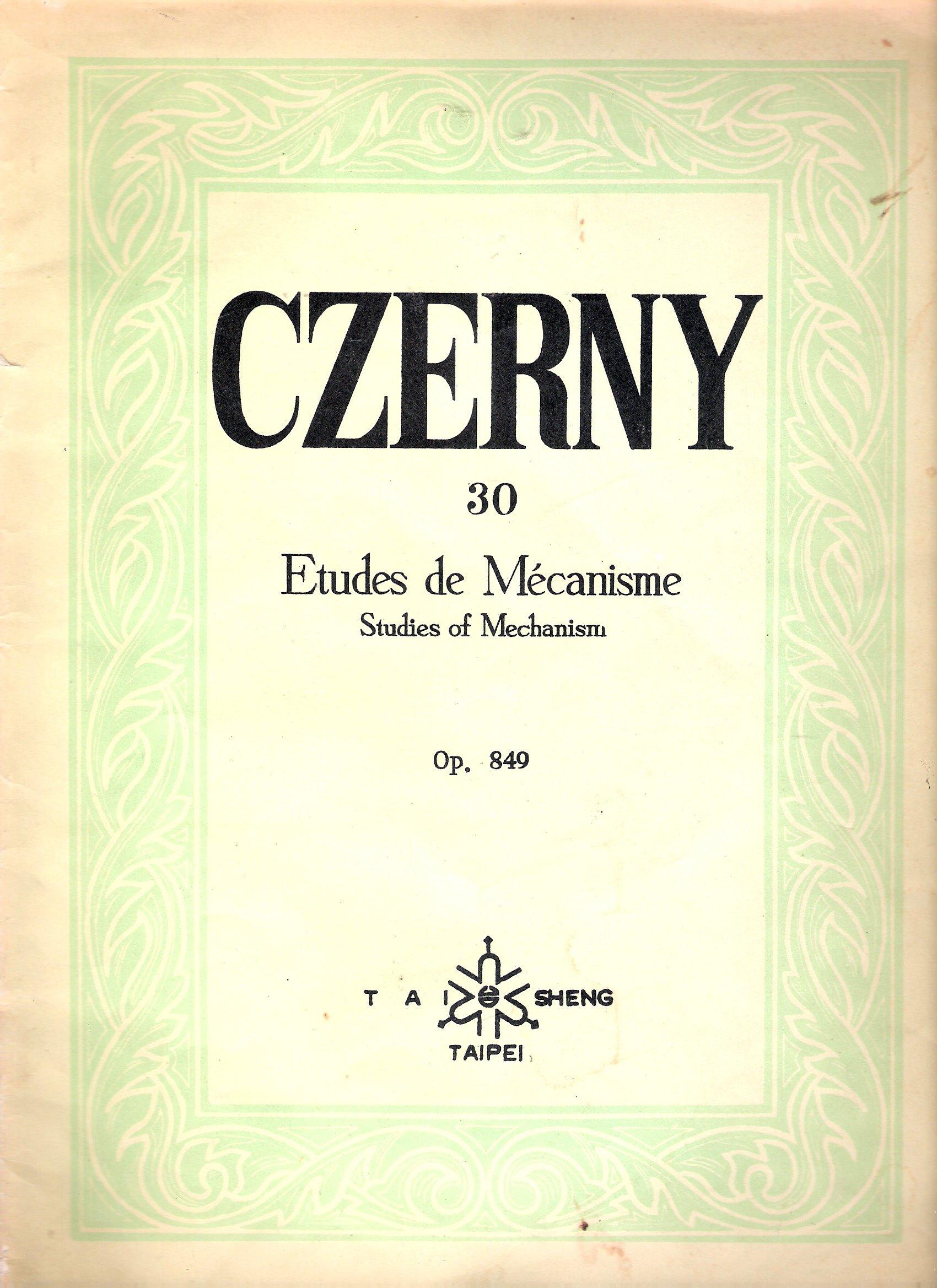 Master Czerny 30 etudes (Korean edition) ebook