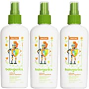 Babyganics Natural Insect Repellent, 6 oz (Pack of 3)