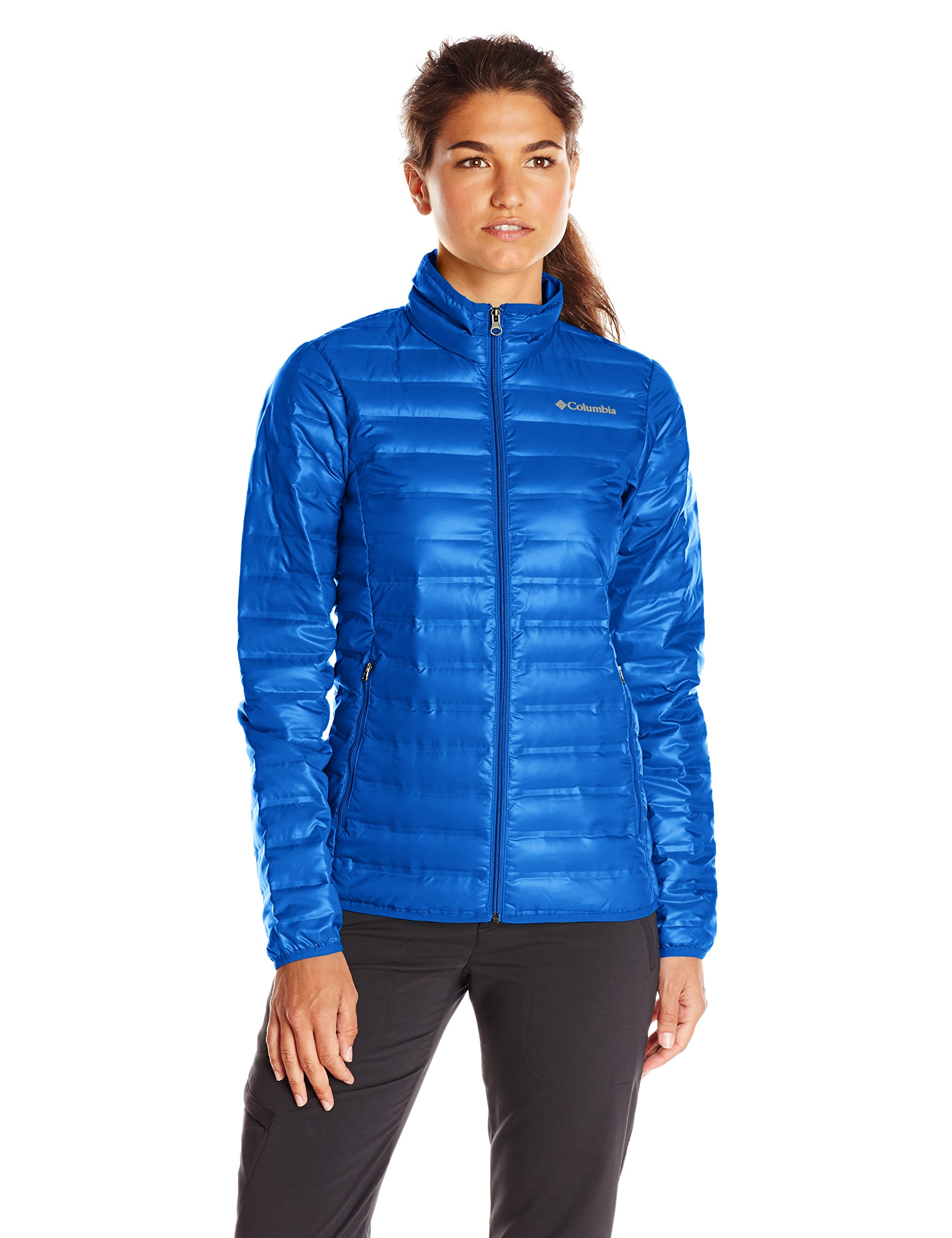 Columbia  Women's Flash Forward Down Jacket, Blue Macaw, X-Small