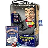 Bonus Bundle! Slappy from Goosebumps Ventriloquist Dummy Doll PLUS Ventriloquism Revealed Booklet PLUS Two Finger gEyes