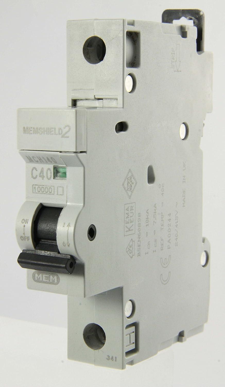 Memshield 2 MCB/'s in various types
