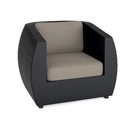 Surprising Amazon Com Corliving Pps 601 C Seattle Patio Chair Home Interior And Landscaping Synyenasavecom