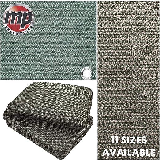 MP Essentials Tejida Suprema putrefacción resistente a la intemperie cubierta del suelo tienda de campaña y toldo alfombra – verde y gris