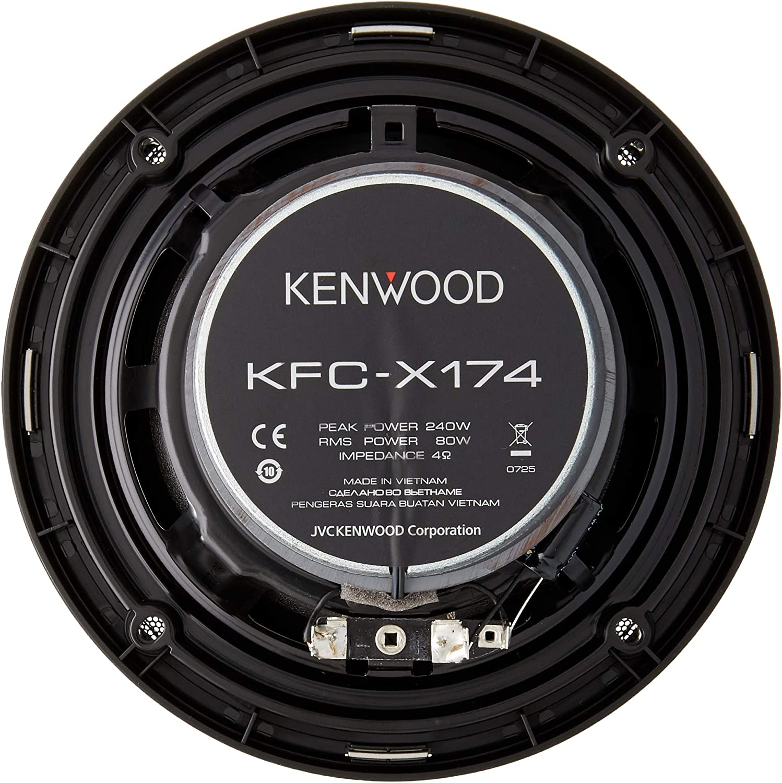 Kenwood KFCX174 Excelon 80W RMS Speakers
