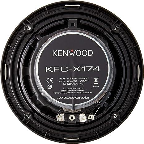 Altavoces Coaxiales KENWOOD KFC-X174 240W 6.5