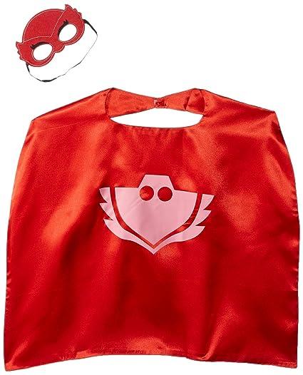 Honey Badger Brands Dress Up Comics Cartoon, Superhero Costume With Satin Cape and Matching Felt