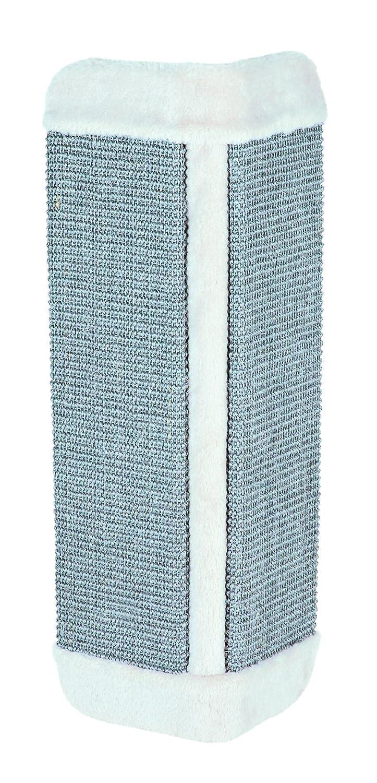 Trixie Kratzbrett für Zimmerecken, 32 × 60 cm, grau/lichtgrau 32 × 60 cm 4011905434353