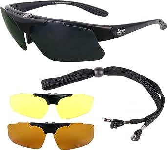 Rapid Eyewear Negro GAFAS DE SOL POLARIZADAS DE PESCA: RX CLIP ...