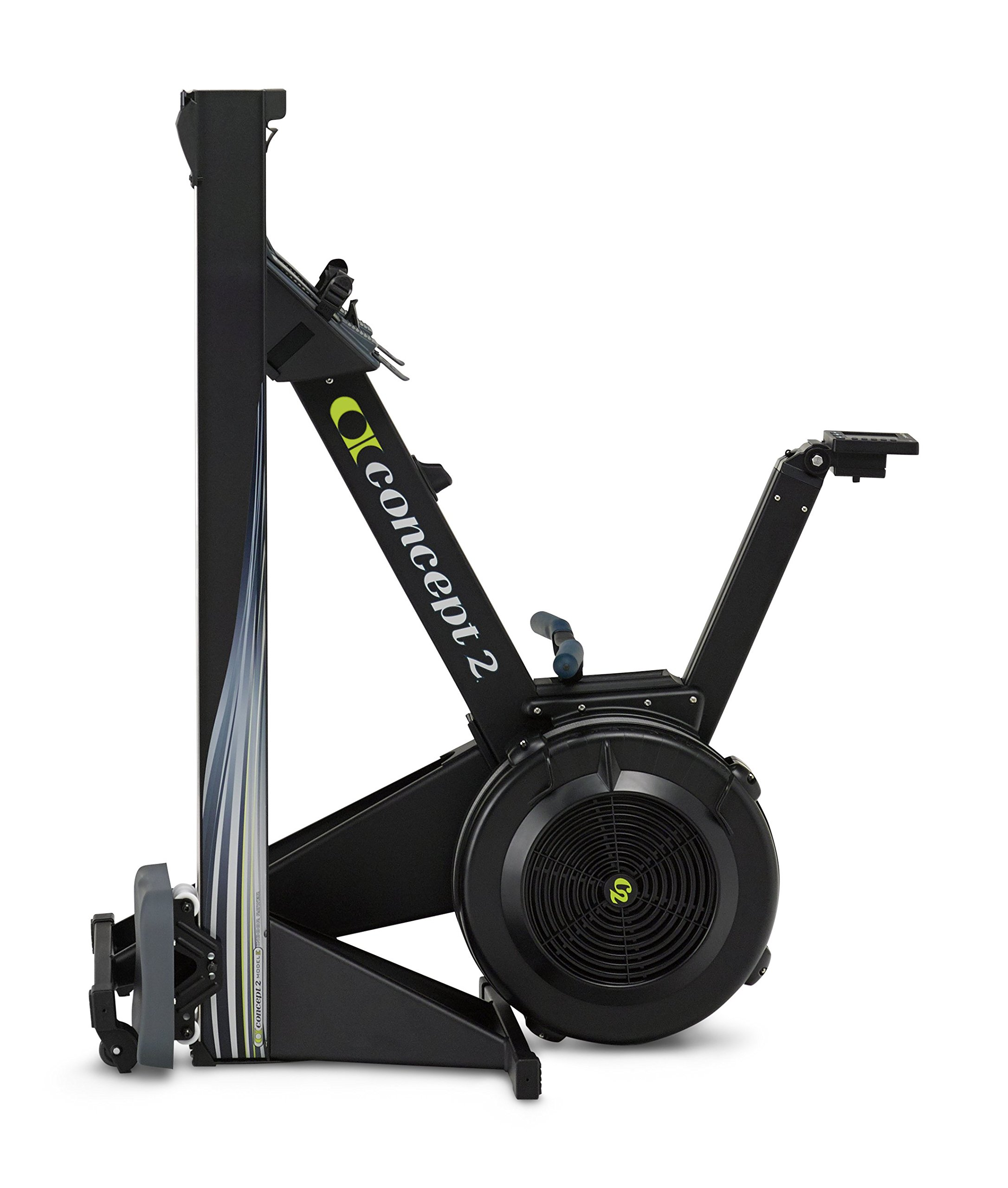 Concept2 Model E with PM5 Performance Monitor Indoor Rower Rowing Machine Black by Concept2 (Image #2)