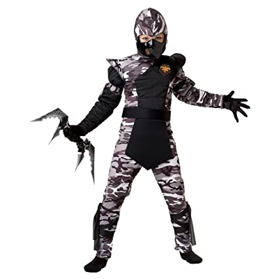 California Costumes Arctic Forces Ninja Child Costume, Large: Toys & Games
