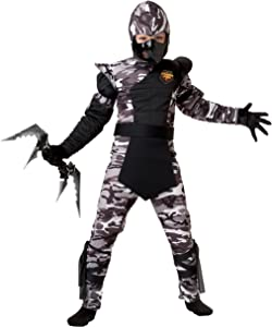 California Costumes Arctic Forces Ninja Child Costume, Large