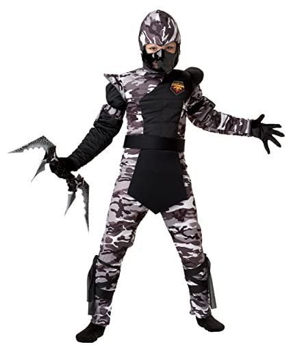 California Costumes Arctic Forces Ninja Child Costume, Small