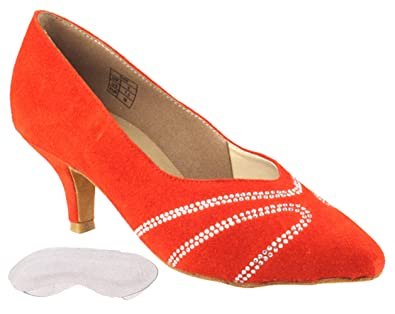 fb8c9b78f Very Fine Women's Salsa Ballroom Tango Dance Shoes EWGCD5504 Bundle with  Back-of-Heel