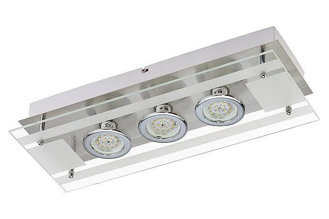 Briloner leuchten lampada da parete a led 5 watt 400 lumen gu10