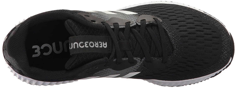 adidas Women's Aerobounce W Running Shoe B01MYR3W7O 7.5 B(M) US|Black/White/White