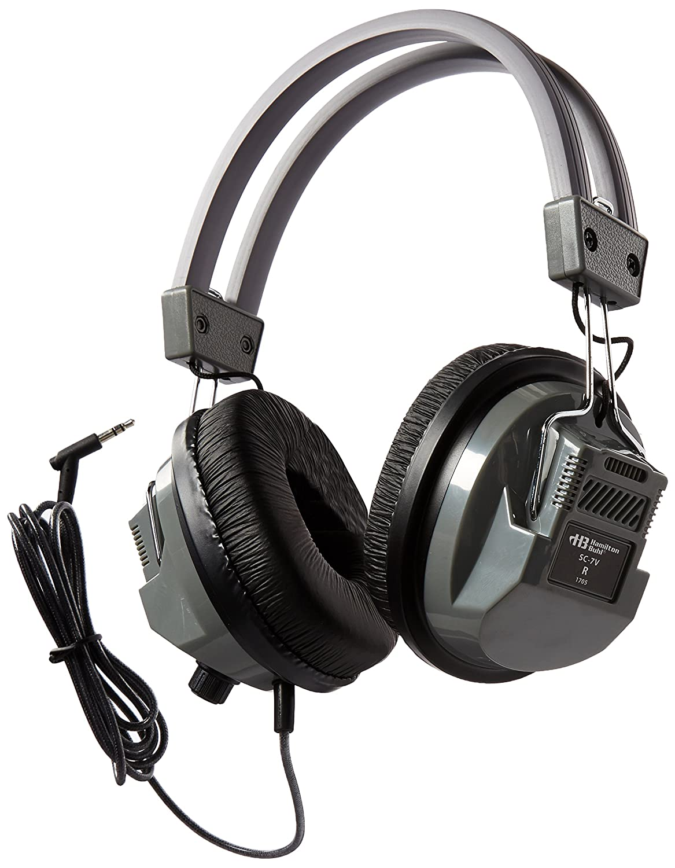 Amazon.com: HamiltonBuhl SchoolMate Deluxe Stereo Headphone with 3.5 mm  Plug and Volume Control: Electronics